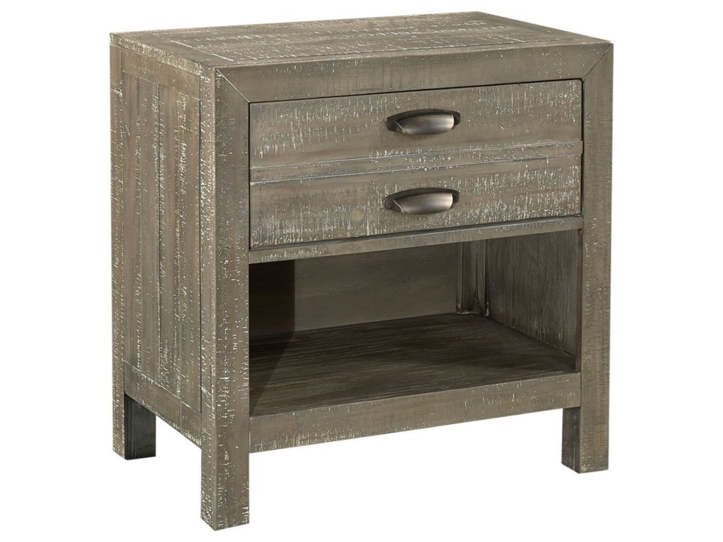 Aspenhome Radiata1 Drawer Nightstand