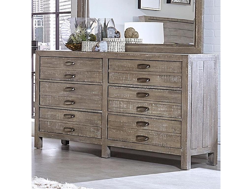 Aspenhome RadiataSix Drawer Dresser