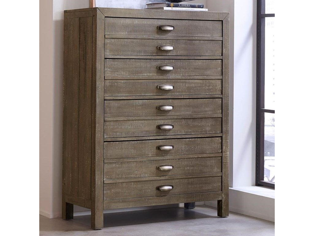 Aspenhome Radiata4 Drawer Chest