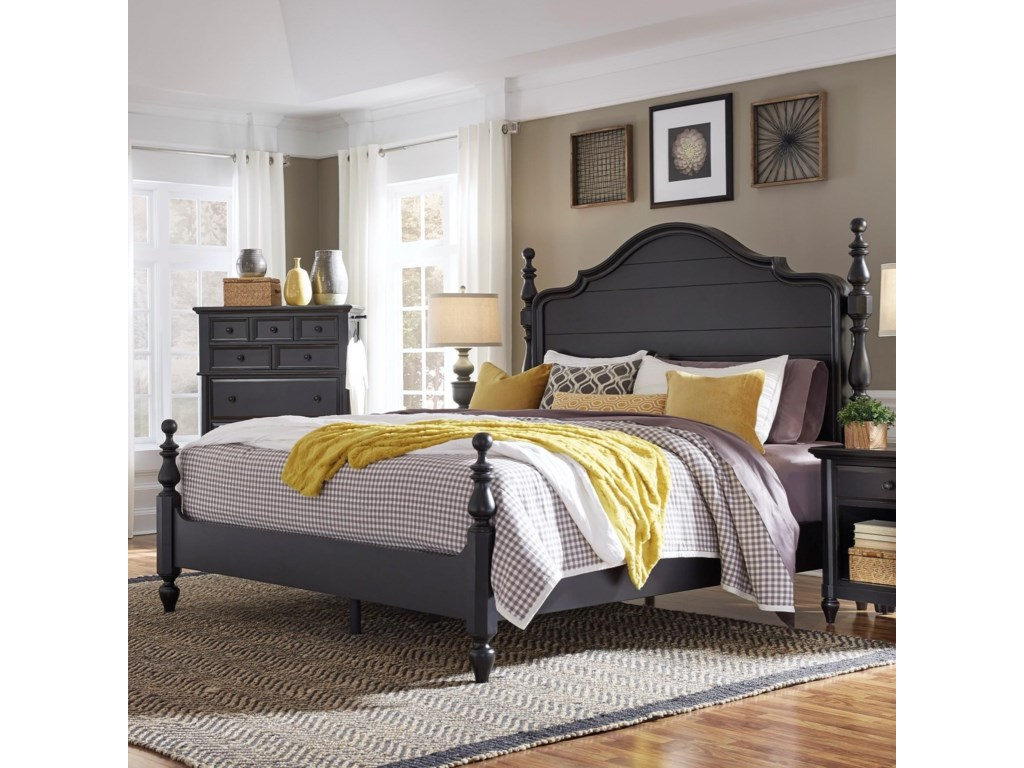 bed cherry beds cortinella product cart king br pc poster primary available wood dark in
