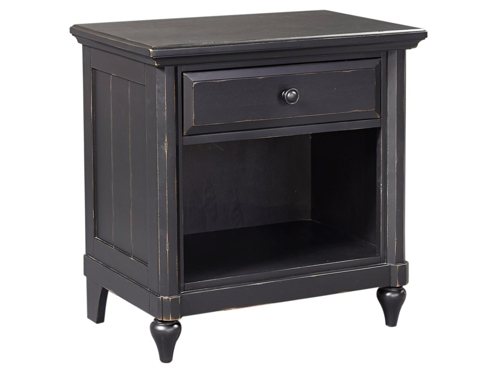 Aspenhome Retreat1 Drawer Nightstand