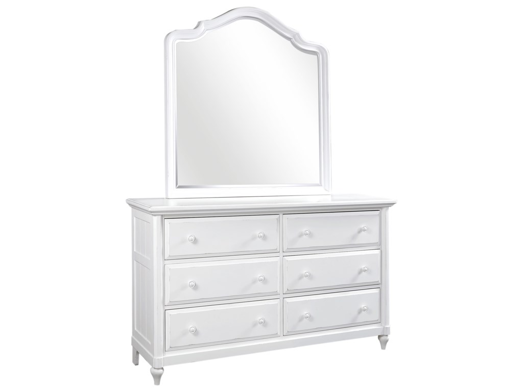 Aspenhome RetreatDresser and Poster Mirror