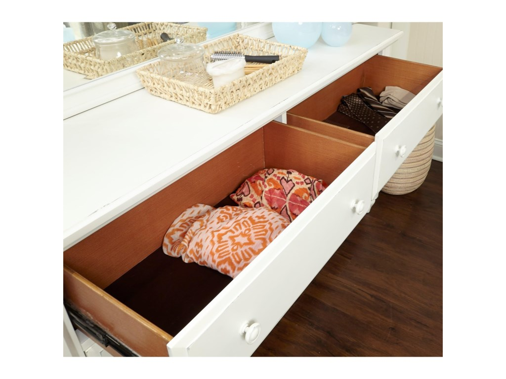 Aspenhome RetreatSix Drawer Dresser