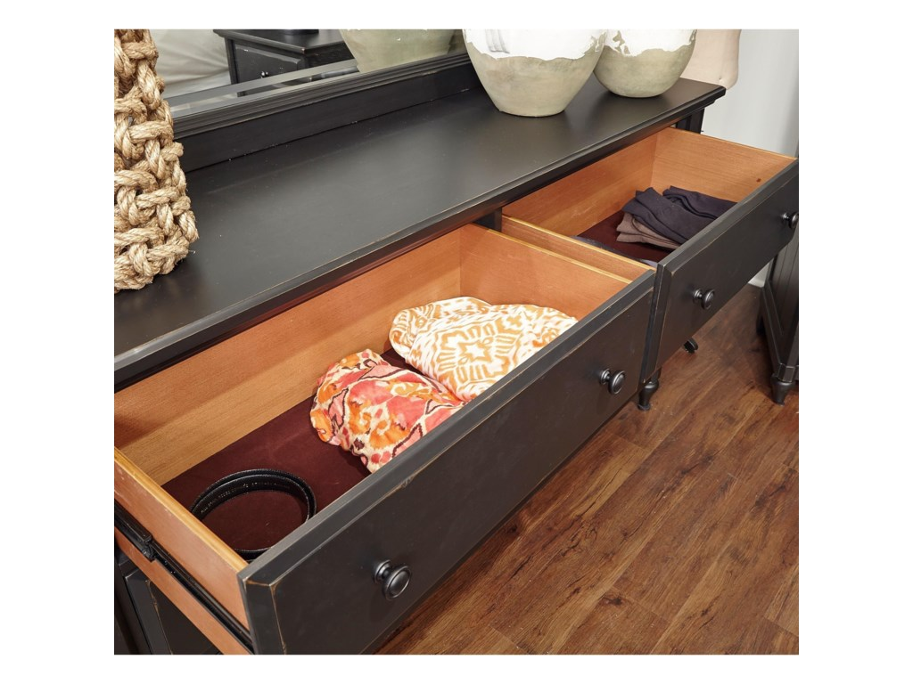 Aspenhome RetreatSix Drawer Dresser