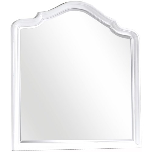 Aspenhome Retreat Poster Mirror with Beveled Glass