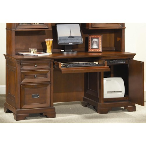 Aspenhome Richmond 66 Inch Credenza Desk