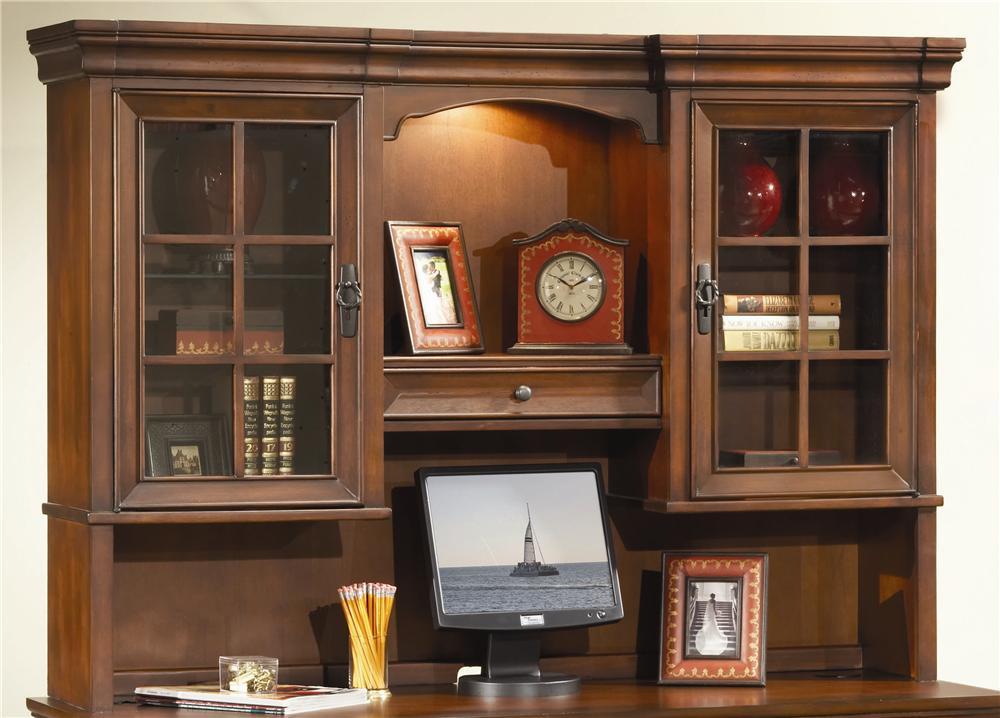 66 Inch Credenza Desk Hutch