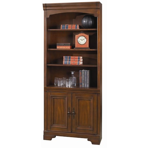 Aspenhome Richmond Bookcase with 2 Doors