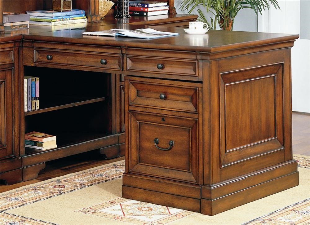 Shown with Partner's Desk Base, Top and Side Panel