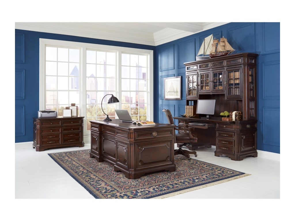 Aspenhome SheffieldExecutive Desk