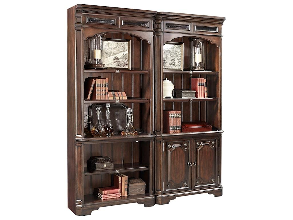 Aspenhome SheffieldOpen Bookcase