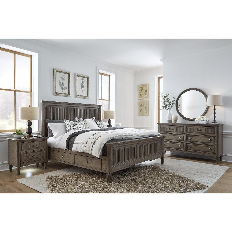 California King Storage Bed Bedroom Group