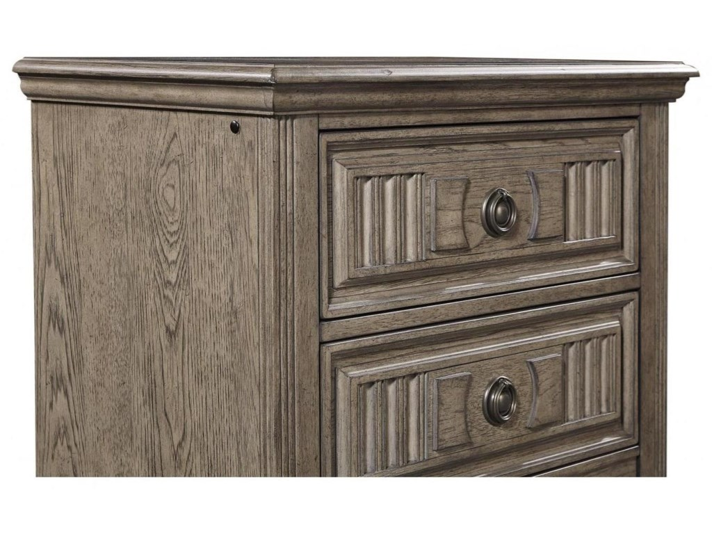 Aspenhome Strasbourg2 Drawer Nightstand