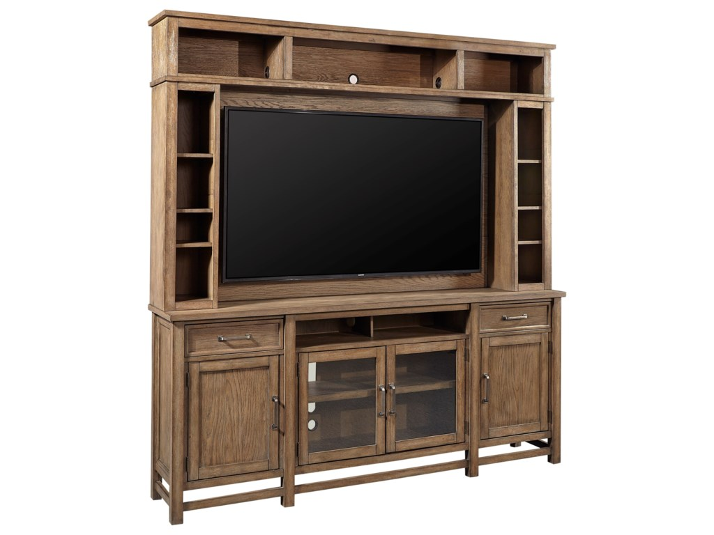 Aspenhome Terrace PointEntertainment Console and Hutch