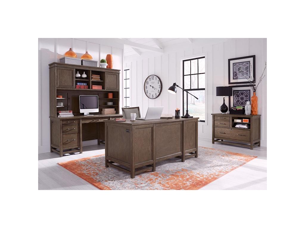 Aspenhome Terrace PointExecutive Desk