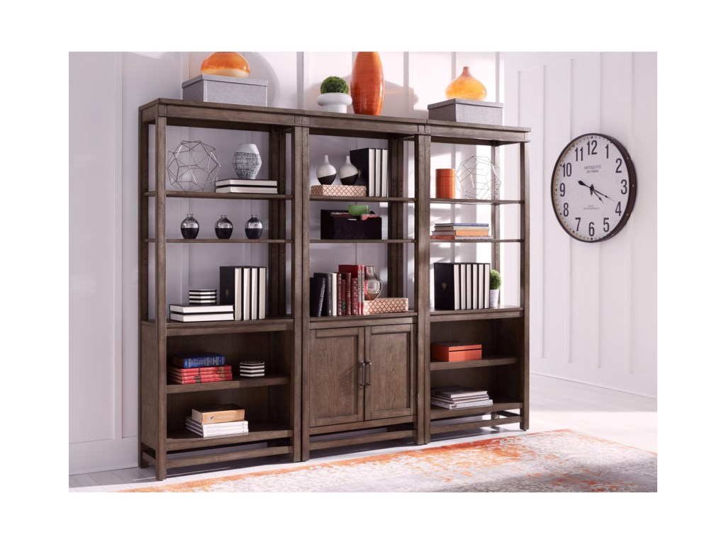 Aspenhome Terrace PointBookcase Wall