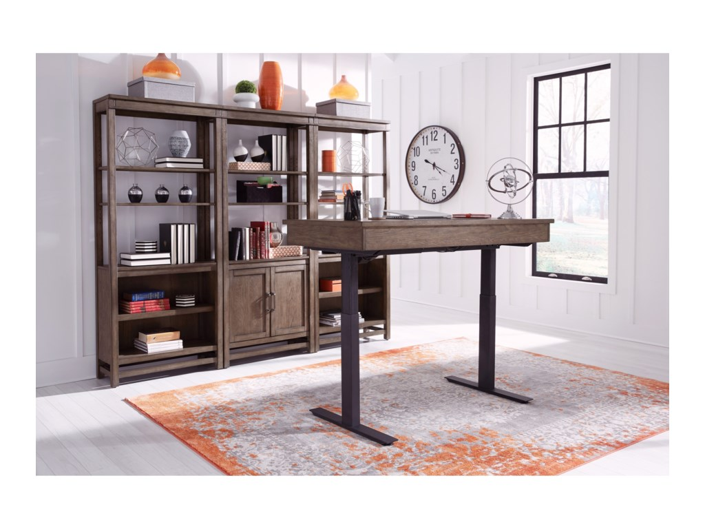 Aspenhome Terrace PointAdjustable Height Desk