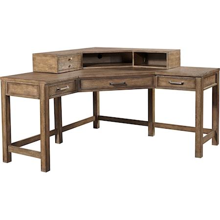 Corner Desk and Hutch