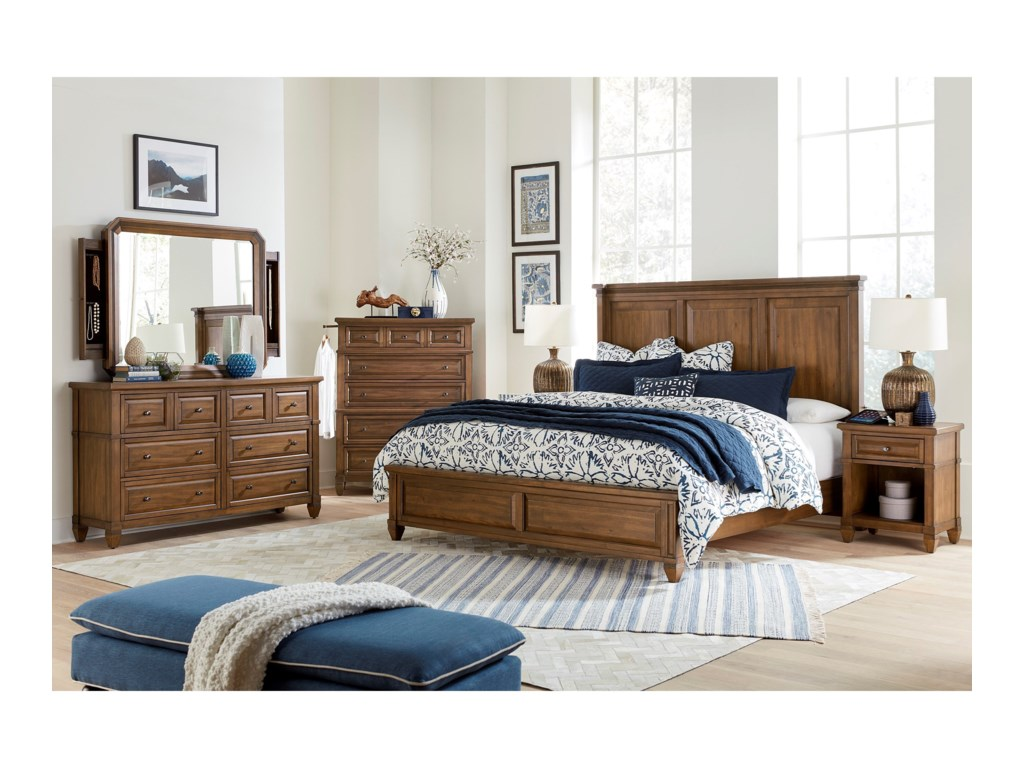 Aspenhome ThorntonQueen Bedroom Group