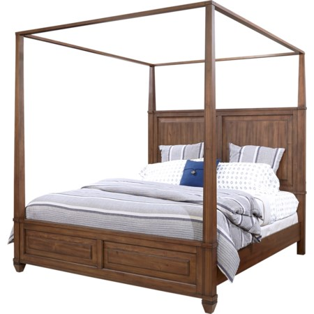 California King Canopy Bed
