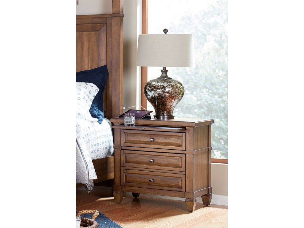 Highland Court ThorntonTwo Drawer Nightstand