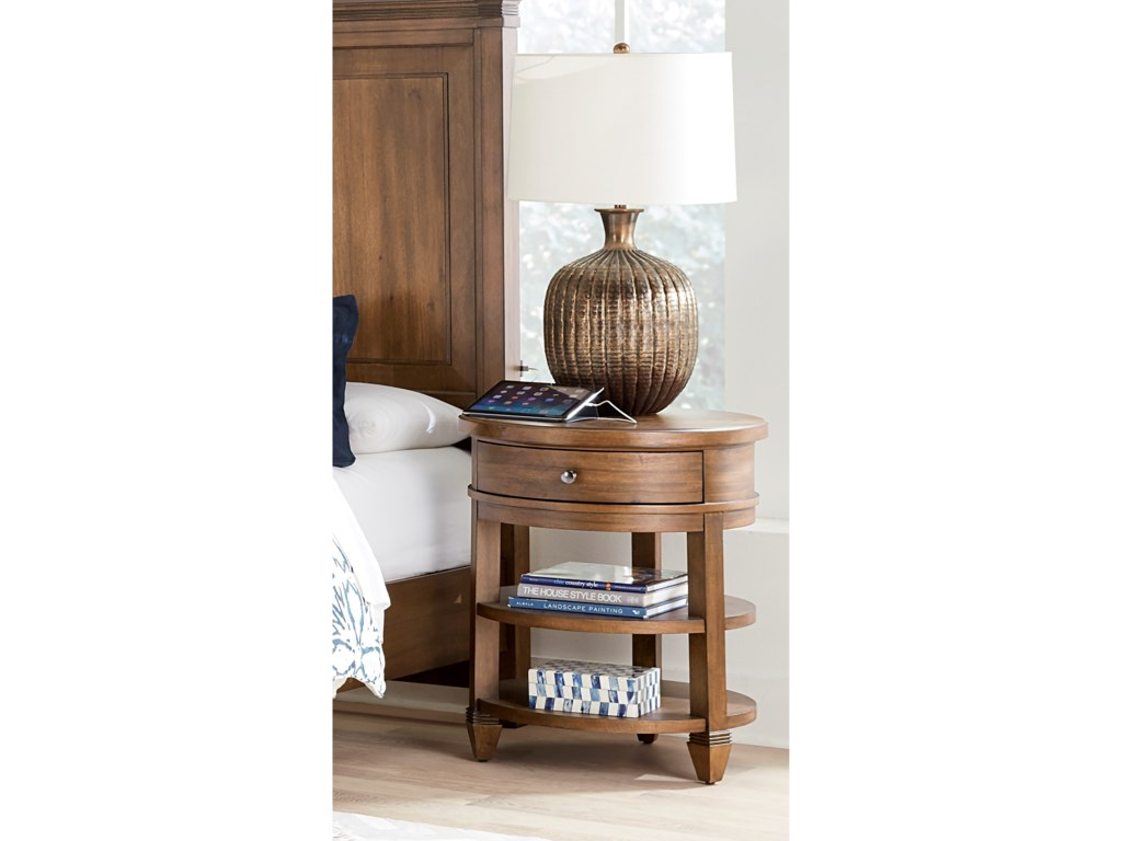 Aspenhome ThorntonRound Nightstand