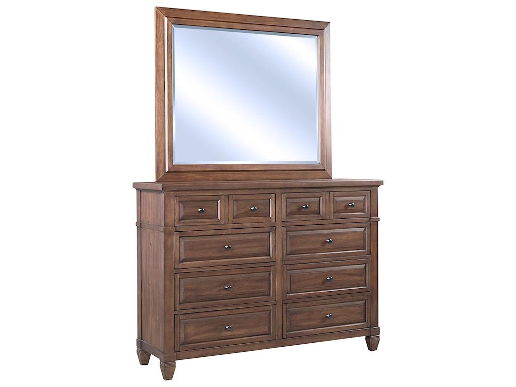 Aspenhome ThorntonLandscape Mirror