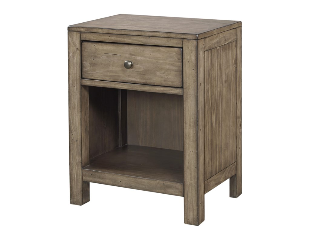 <span>Lead Time:</span> Approximately 6-8 Weeks Subject To Product Availability TildonOne Drawer Nightstand