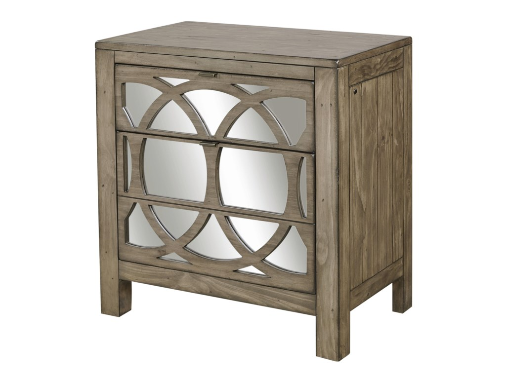 Aspenhome tildonliv360 mirrored nightstand