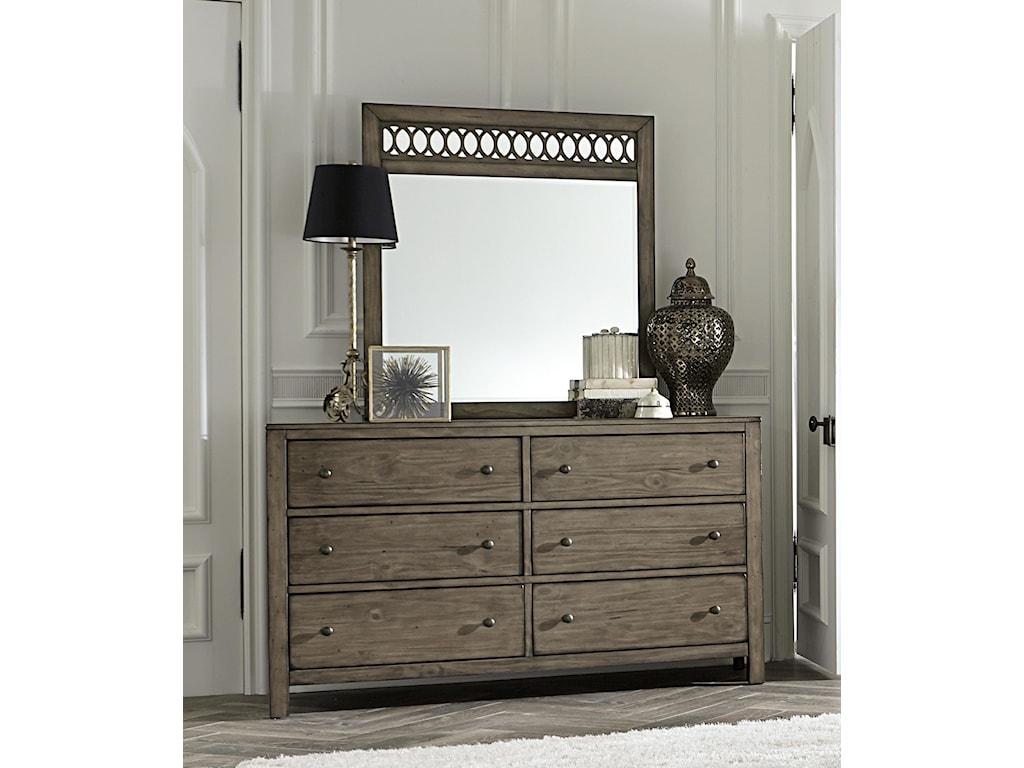 Aspenhome TildonSix Drawer Dresser