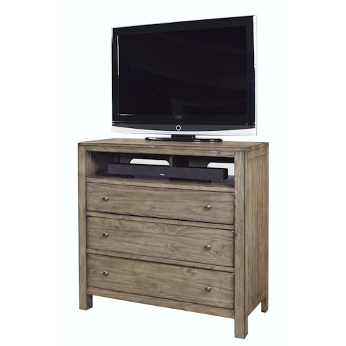 Aspenhome Tildon Liv360 Entertainment Chest with 3 Drawers