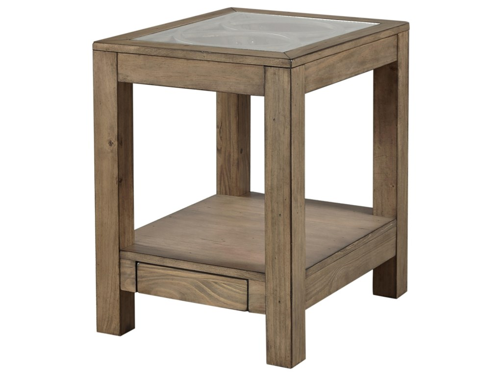 Aspenhome TildonChairside Table