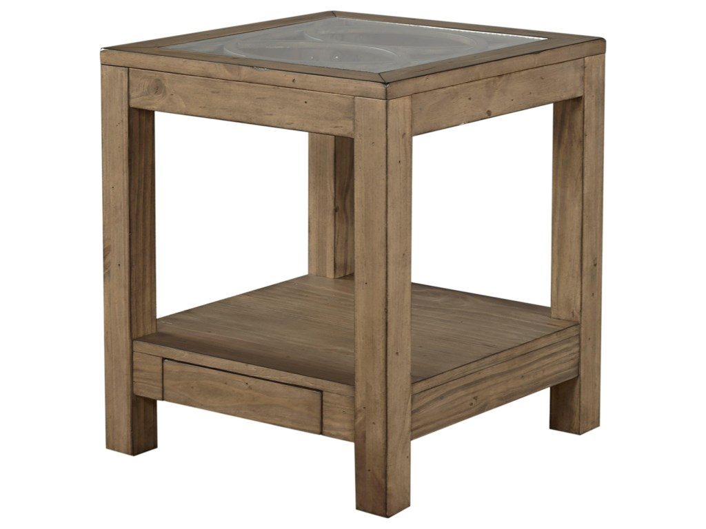 Highland Court Morris Home End Table With Power Outlet Morris Home