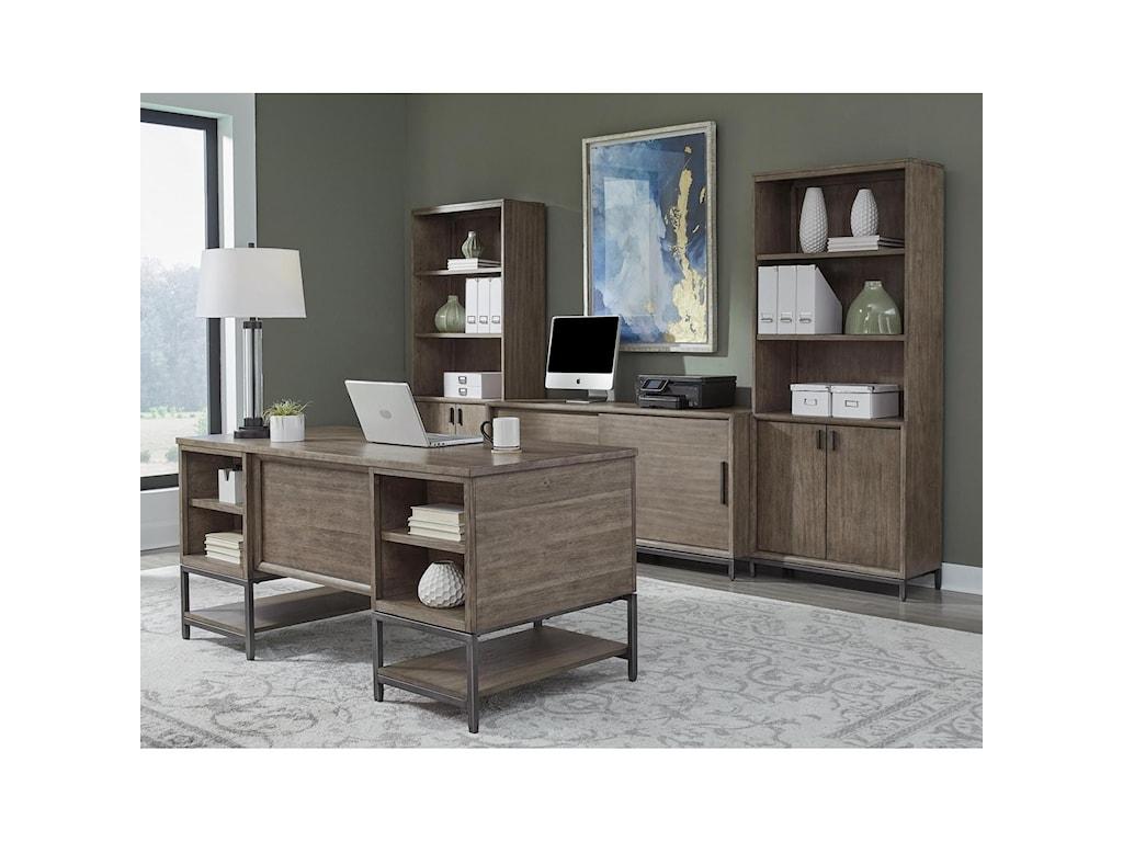 Aspenhome TrellisOpen Ped Desk