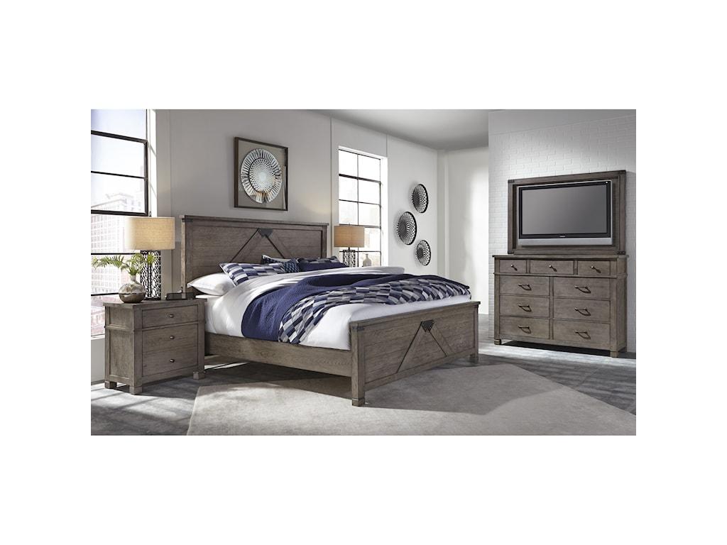 Aspenhome TuckerCal King Bedroom Group
