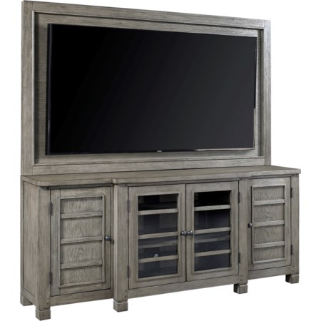 """75"""" Console with TV Backer"""