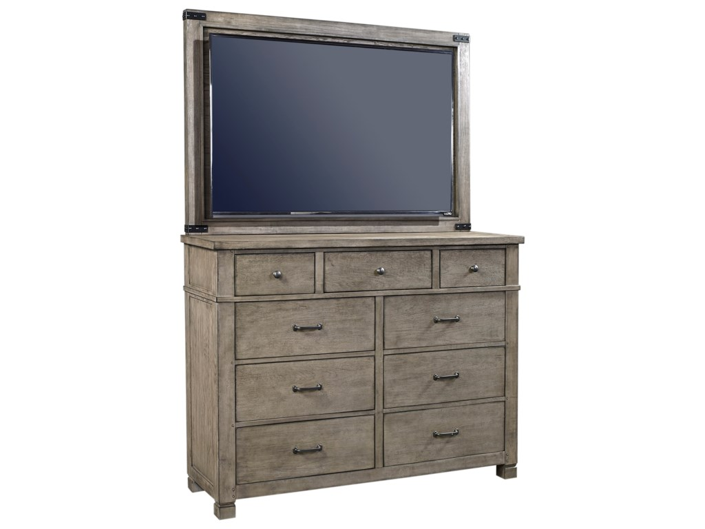 Aspenhome TuckerChesser with TV Stand
