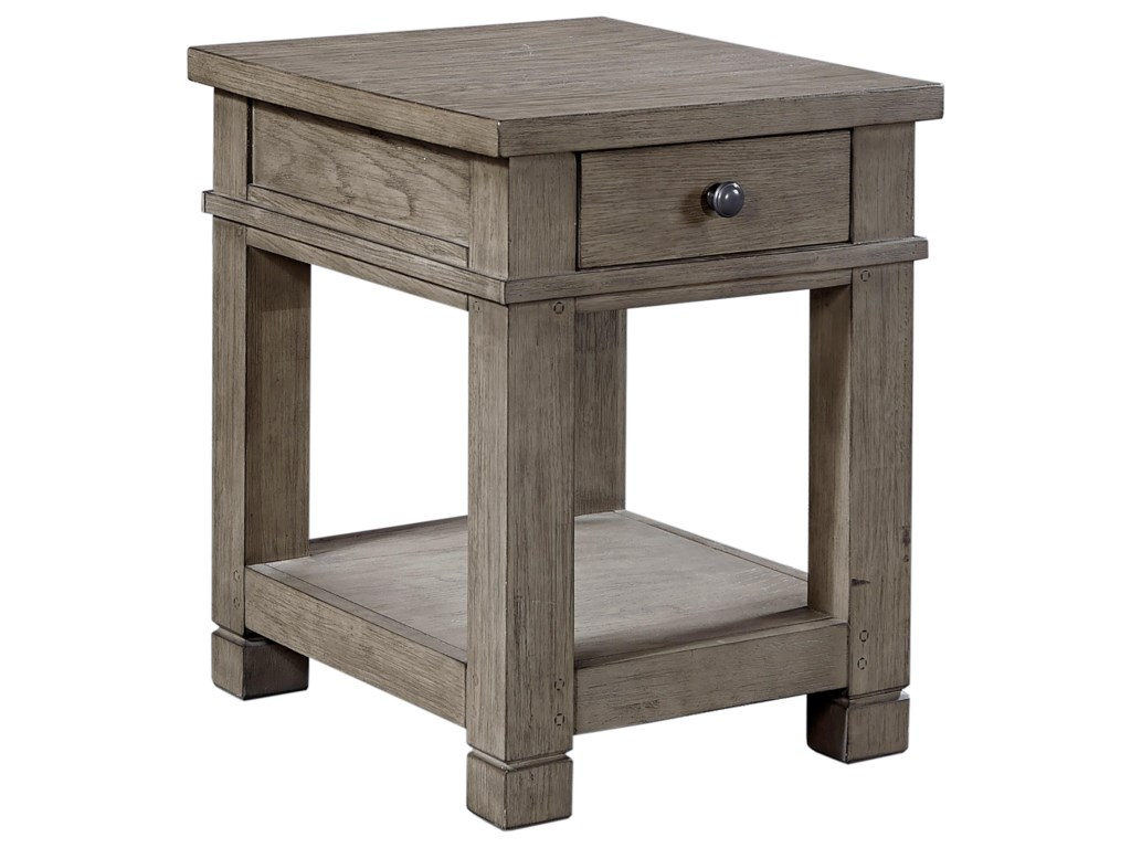 Aspenhome TuckerChairside Table