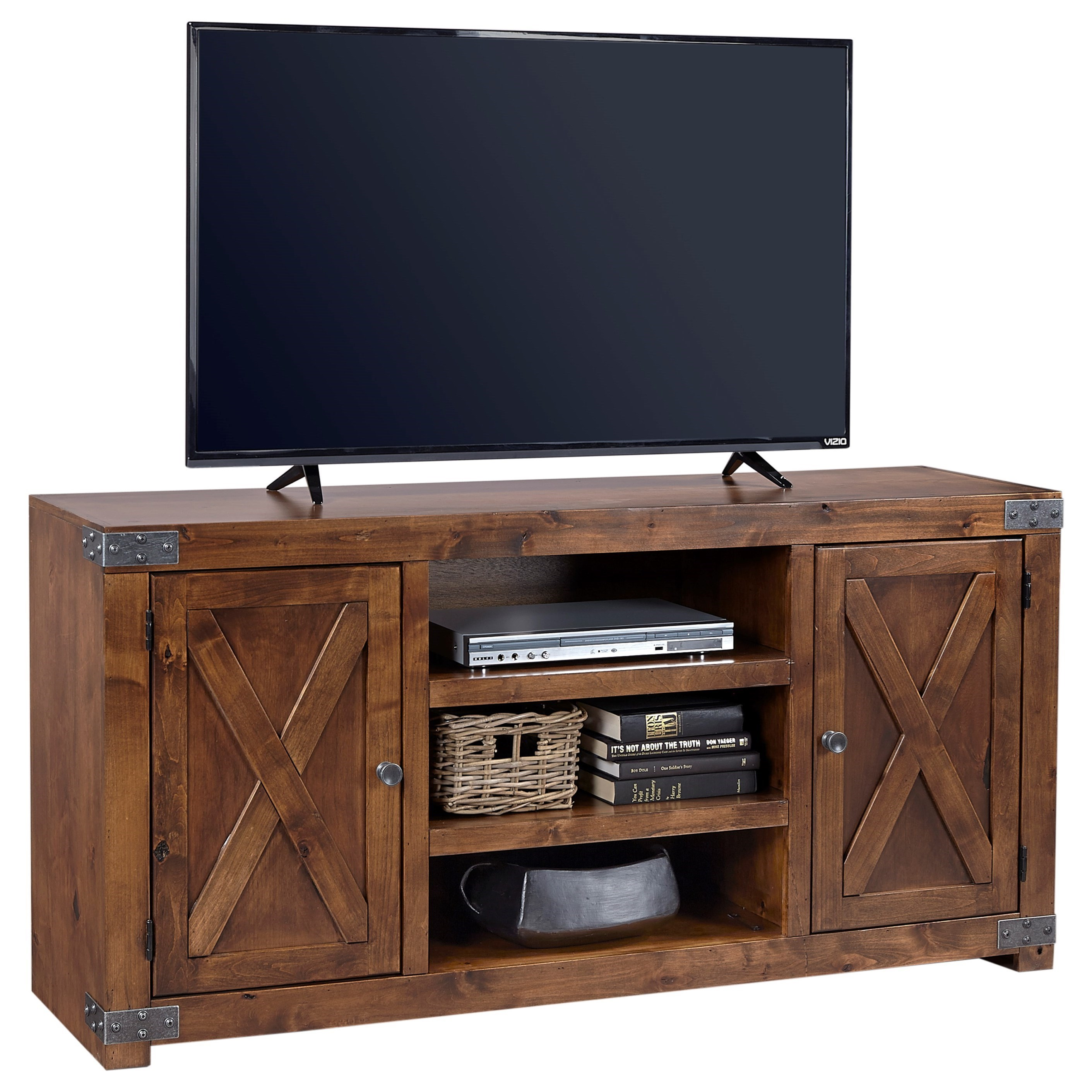"""60"""" Entertainment Console with 2 Doors"""