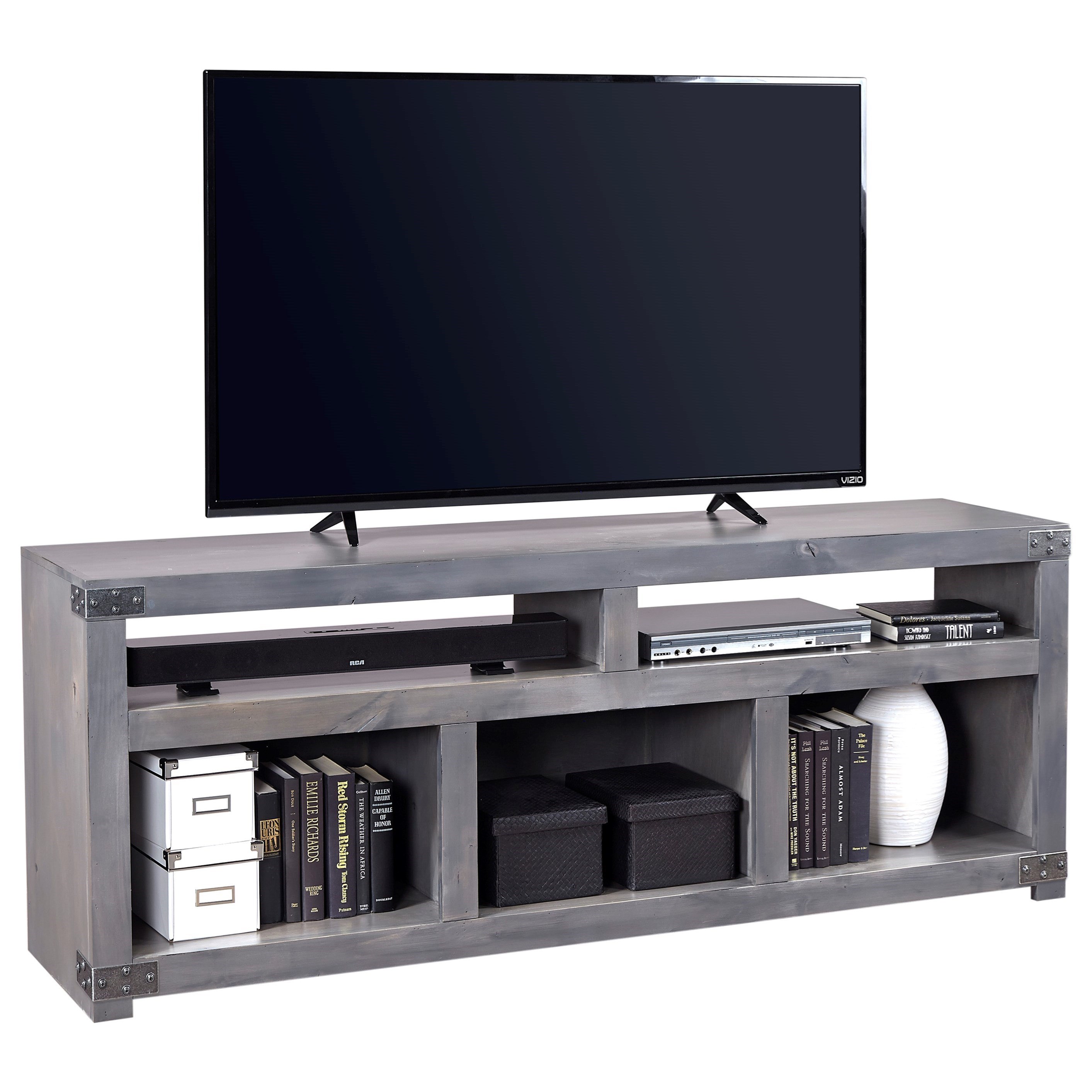 """72"""" Open Console with 5 Compartments"""