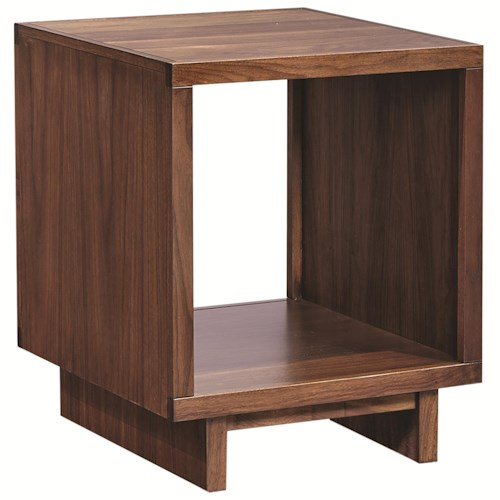 Aspenhome Walnut Heights Open End Table