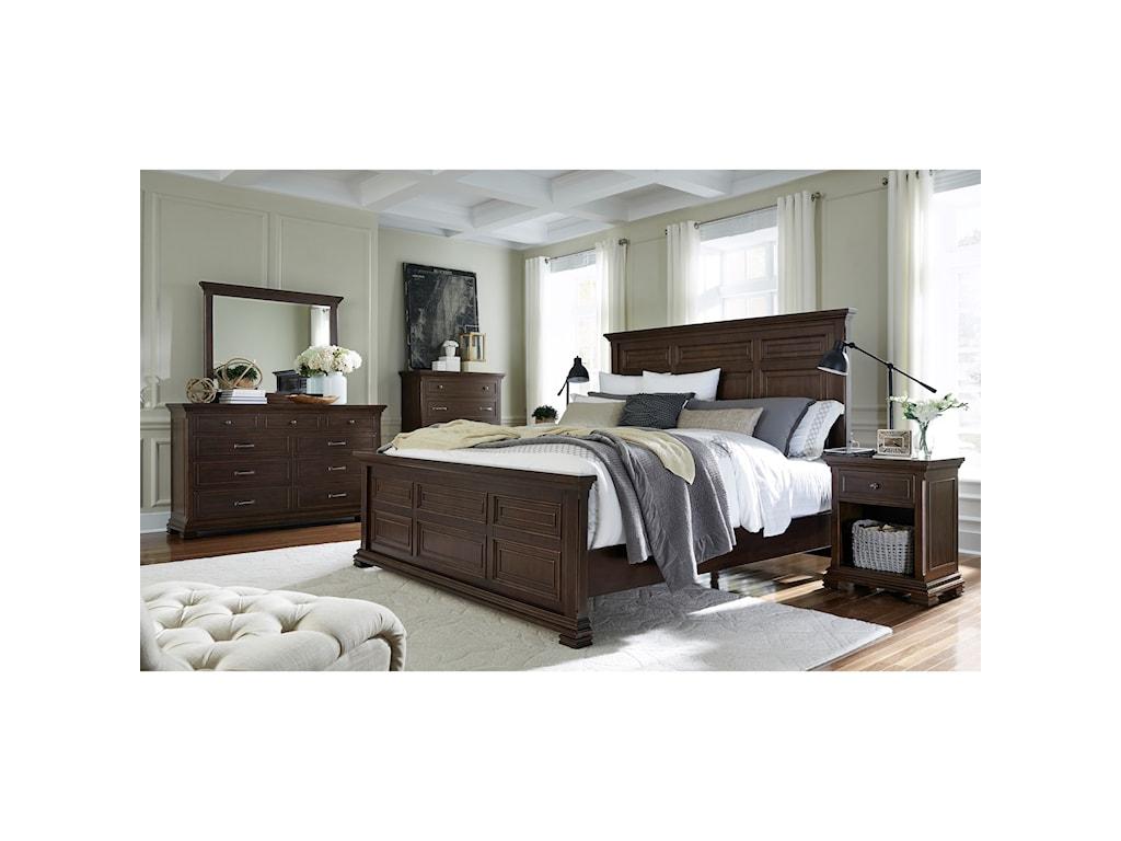 Aspenhome WestonQueen Bedroom Group