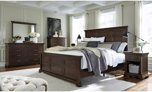 Aspenhome Weston Queen Bedroom Group