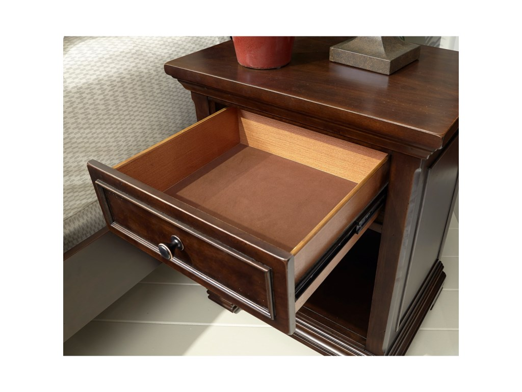 Aspenhome Weston1 Drawer Nightstand