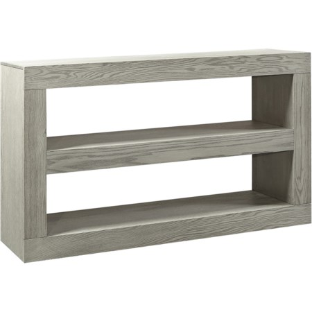 Open Console 2-Shelf TV Stand
