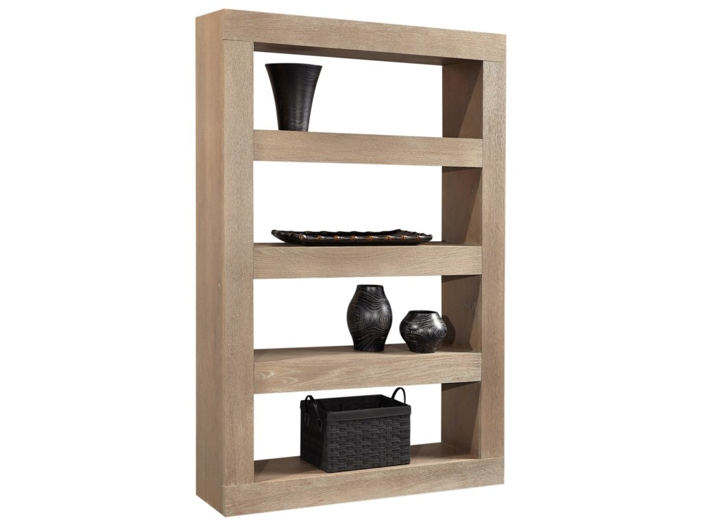 Aspenhome Nova OakOpen Display Case