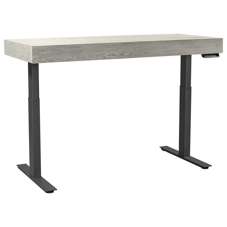 Transitional Adjustable Desk with Digital Memory Settings