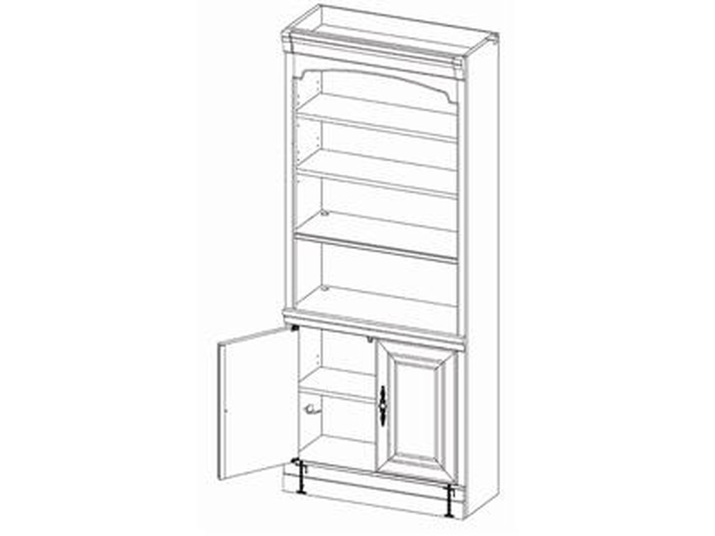 Highland Court RichmondDoor Bookcase