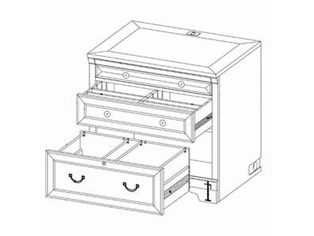 Highland Court RichmondDrawer Unit