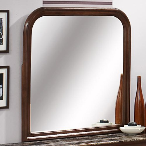 Austin Group Marseille Curved Dresser Mirror